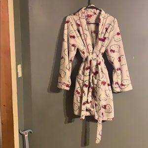 Hello kitty house robe.